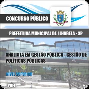 Apostila Ilhabela SP 2020 Gestão de Políticas Públicas
