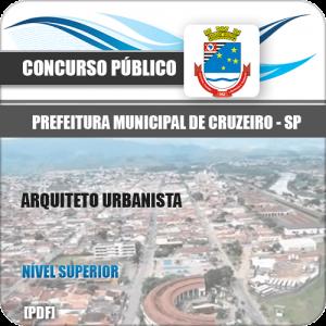 Apostila Prefeitura Cruzeiro SP 2020 Arquiteto e Urbanista