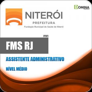 Apostila FMS Niterói RJ 2020 Assistente Administrativo