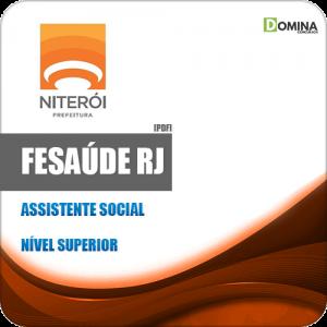 Apostila Concurso FeSaúde RJ 2020 Assistente Social