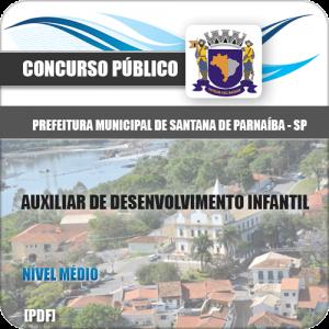 Apostila Santana Parnaíba SP 2020 Aux Desenvolvimento Infantil