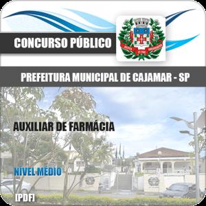 Apostila Prefeitura Cajamar SP 2020 Auxiliar de Farmácia