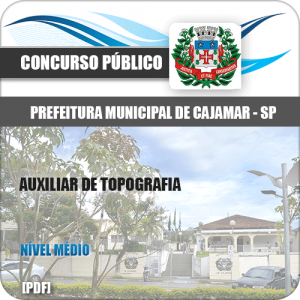 Apostila Pref Cajamar SP 2020 Auxiliar de Topografia