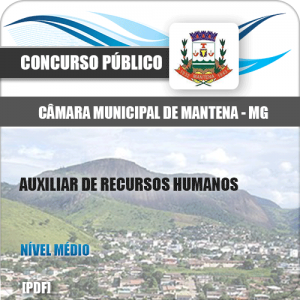 Apostila Mantena MG 2020 Auxiliar de Recursos Humanos