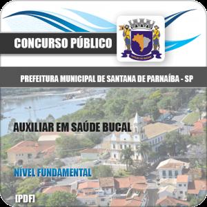 Apostila Santana de Parnaíba SP 2020 Auxiliar Saúde Bucal