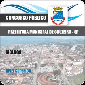 Apostila Concurso Prefeitura de Cruzeiro SP 2020 Biólogo
