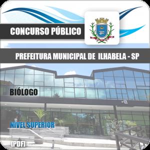 Apostila Concurso Prefeitura de Ilhabela SP 2020 Biólogo
