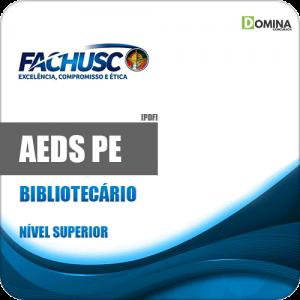 Capa AEDS PE 2020 Bibliotecário