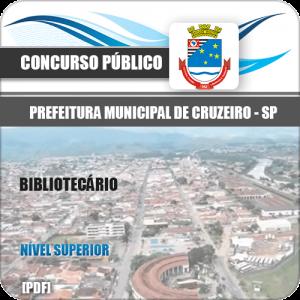Apostila Concurso Prefeitura Cruzeiro SP 2020 Bibliotecário