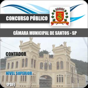 Apostila Concurso Câmara Municipal Santos 2020 Contador
