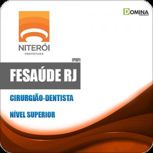 Apostila Concurso FeSaúde RJ 2020 Cirurgião Dentista