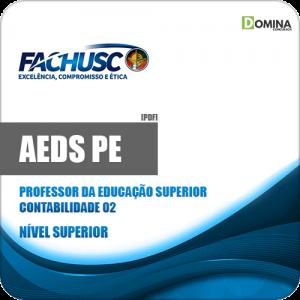 Apostila Concurso AEDS PE 2020 Professor Contabilidade 02