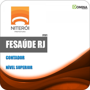 Apostila Concurso FeSaúde Niterói RJ 2020 Contador