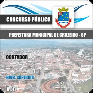 Apostila Concurso Prefeitura Cruzeiro SP 2020 Contador