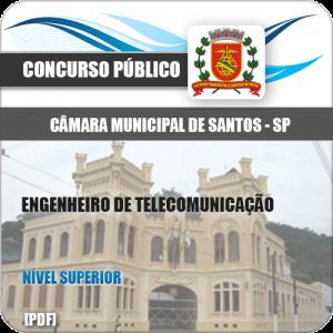 Apostila Câmara Santos 2020 Engenheiro de Telecomunicação