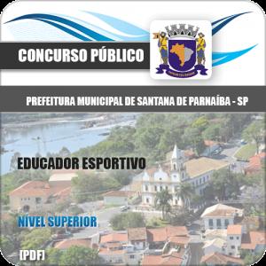 Apostila Santana de Parnaíba SP 2020 Educador Esportivo