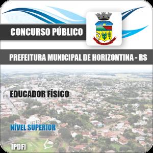 Apostila Concurso Horizontina RS 2020 Educador Físico
