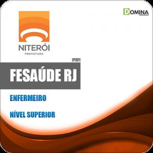 Apostila Concurso FeSaúde Niterói RJ 2020 Enfermeiro