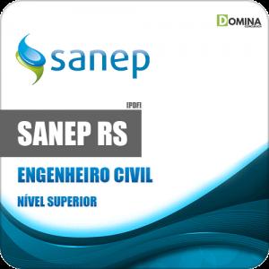 Apostila Concurso Sanep Pelotas RS 2020 Engenheiro Civil