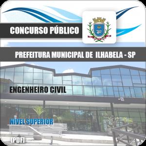 Apostila Prefeitura de Ilhabela SP 2020 Engenheiro Civil