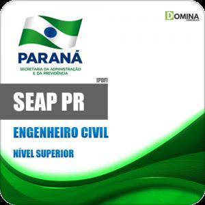 Apostila DRH SEAP PR 2020 Engenheiro Civil e Arquiteto