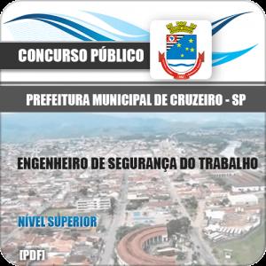 Apostila Cruzeiro SP 2020 Engenheiro Segurança Trabalho