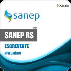 Apostila Concurso Sanep Pelotas RS 2020 Escrevente