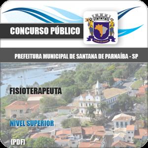 Apostila Pref Santana de Parnaíba SP 2020 Fisioterapeuta