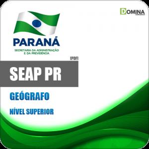Download Apostila Concurso SEAP PR 2020 Geógrafo