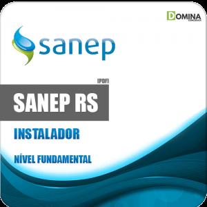 Apostila Concurso Sanep Pelotas RS 2020 Instalador