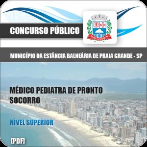 Apostila Praia Grande SP 2020 Médico Pediatra Pronto Socorro