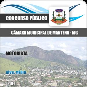 Apostila Câmara Municipal Mantena MG 2020 Motorista
