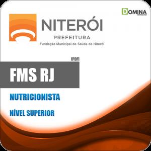 Apostila Concurso FMS Niterói RJ 2020 Nutricionista