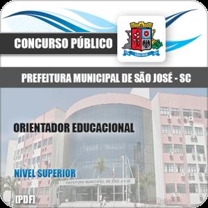 Apostila Pref São José SC 2020 Orientador Educacional