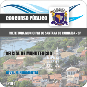 Apostila Santana de Parnaíba SP 2020 Oficial de Manutenção