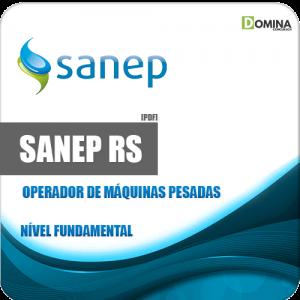 Apostila Sanep Pelotas RS 2020 Operador Máquinas Pesadas