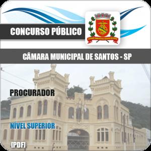 Apostila Câmara Municipal de Santos 2020 Procurador