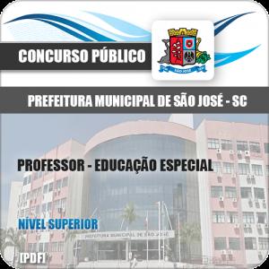 Apostila São José SC 2020 Professor Educação Especial