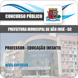 Apostila São José SC 2020 Professor Educação Infantil