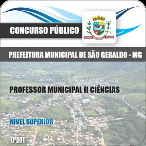Apostila São Geraldo MG 2020 Professor Municipal II Ciências