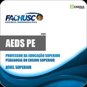 Apostila AEDS PE 2020 Professor Superior Pedagogia