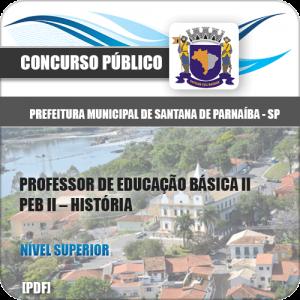 Apostila Santana de Parnaíba SP 2020 Professor História