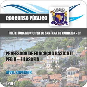 Apostila Santana de Parnaíba SP 2020 Professor Filosofia
