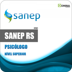 Apostila Concurso Sanep Pelotas RS 2020 Psicólogo