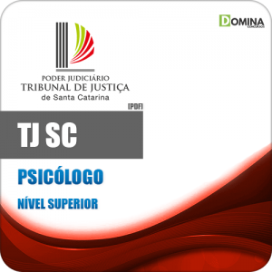 Apostila Concurso TJ SC 2020 Psicólogo Edital FCC