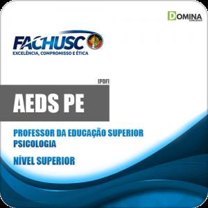 Apostila AEDS PE 2020 Professor Superior Psicologia
