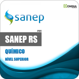 Apostila Concurso Sanep Pelotas RS 2020 Químico