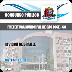 Apostila Concurso São José SC 2020 Professor Braille