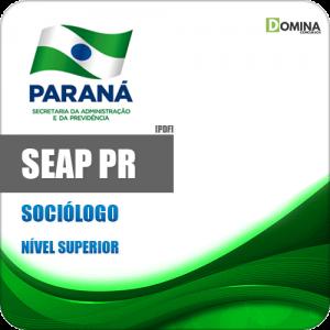 Apostila Concurso DRH SEAP PR 2020 Sociólogo IBFC