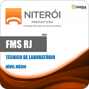Apostila FMS Niterói RJ 2020 Técnico de Laboratório